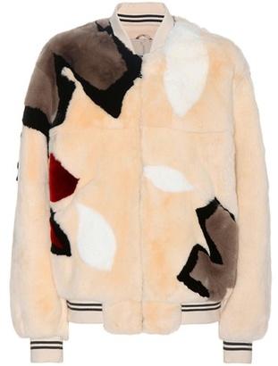 Army By Yves Salomon Fur bomber jacket