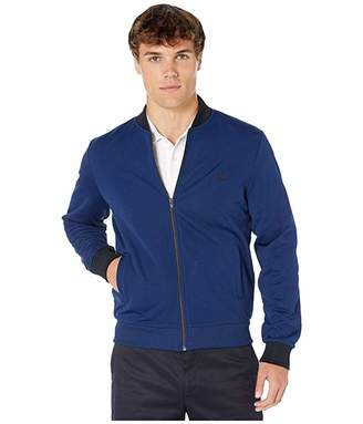 Fred Perry Tipped Bomber Neck Track Jacket