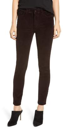 DL1961 Farrow High Waist Ankle Skinny Corduroy Pants