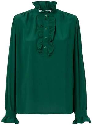 Stella McCartney ruffled neck blouse
