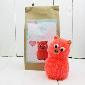 Hurley Sarah Pom Pom Pets Craft Kit Pig