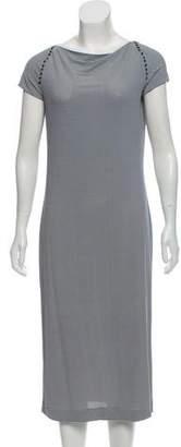 Tomas Maier Striped Midi Dress w/ Tags