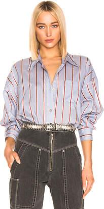Etoile Isabel Marant Ycao Shirt in Light Blue   FWRD