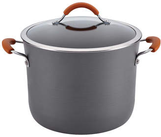 Rachael Ray Cucina 10 Qt. Stock Pot with Lid Handle