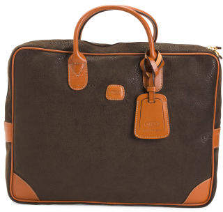 Life Nuovo Coated Canvas Briefcase