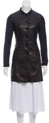 Emporio Armani Lightweight Leather Jacket