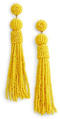 BaubleBar Mariachi Beaded Tassel Earrings