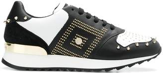 Versace studded sneakers