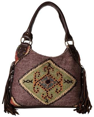 Scully Serena Fringe Tote Bag Tote Handbags