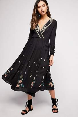 Free People The Enchanted Forest Midi Dress