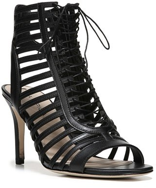 Women's Via Spiga Valena Lace-Up Cage Sandal $275 thestylecure.com