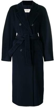 Max Mara belted double breasted coat