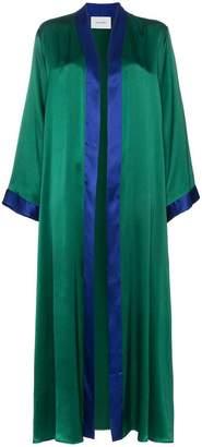 Leone We Are Aiza kimono silk jacket