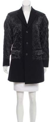 R 13 Paneled Quilted Coat