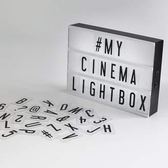 Pottery Barn Teen Original Cinema Lightbox, Black/White