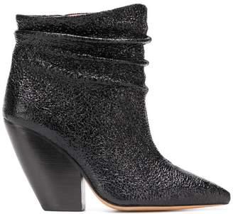 IRO pointed slip-on boots