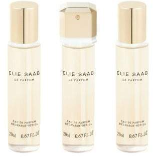 Elie Saab Le Parfum Purse Spray Eau De Parfum Refills 3X20Ml