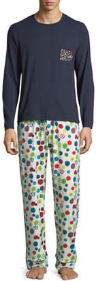 BedHead Graphic T-Shirt Long Pajama Set