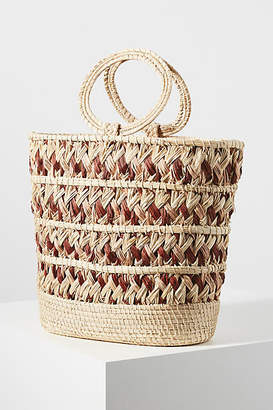 Kaanas Mongui Basket Tote Bag