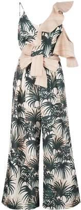 PatBO palm print jumpsuit