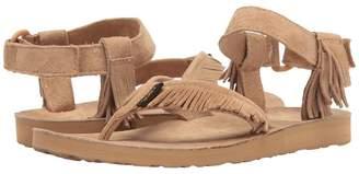 Teva Original Sandal Leather Fringe Women's Sandals