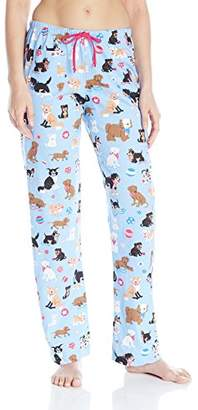 Hatley Little House by Women's Cute Pups Jersey Pyjama Bottoms