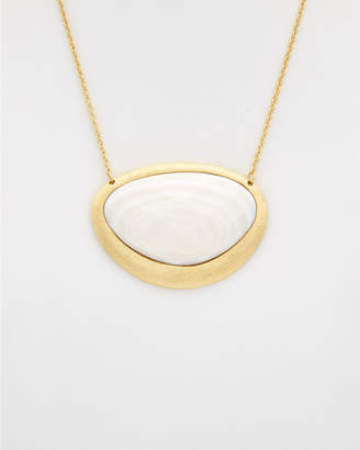 Rivka Friedman 18K Clad Mother-Of-Pearl Necklace