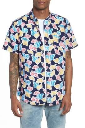 The Rail Print Nep Woven Shirt