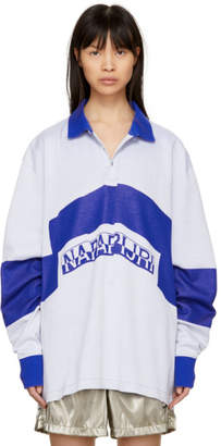 Martine Rose NAPA by White and Blue Ebrius Polo