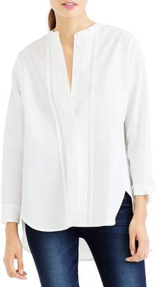 J.Crew Thomas Mason(R) for Collarless Tuxedo Shirt