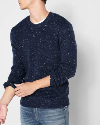 7 For All Mankind Nep Crewneck Sweater in Navy
