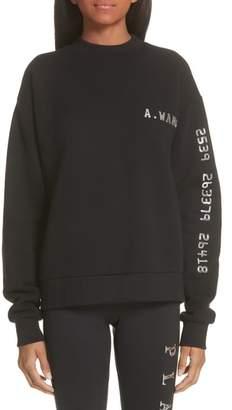 Alexander Wang Credit Card Sweatshirt