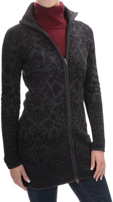 Cynthia Rowley Long Jacquard Cardigan Sweater - Full Zip (For Women) $39.99 thestylecure.com