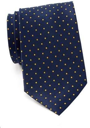 Tommy Hilfiger Contrast Dot XL Silk Tie
