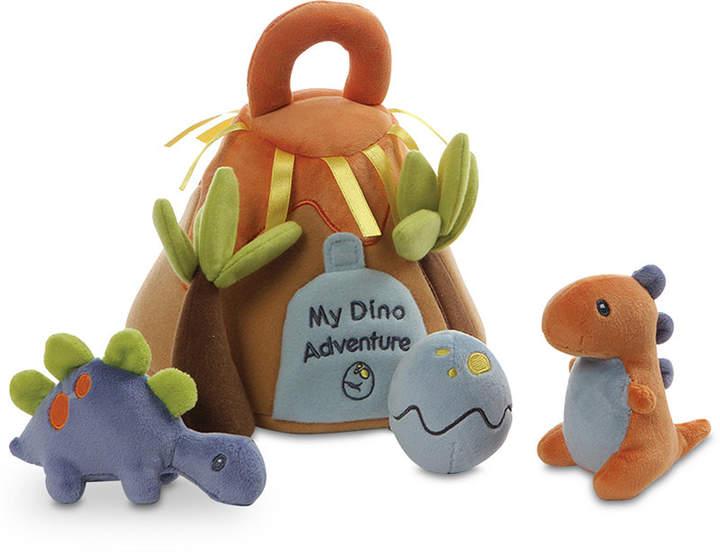 Gund Baby Boys or Girls My Dino Adventure Plush Play Set