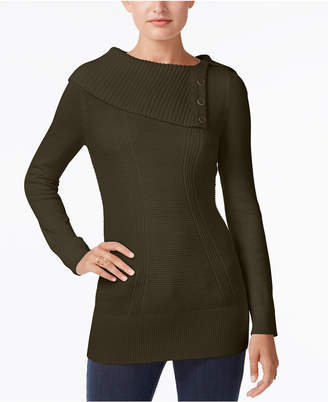 Style&Co. Style & Co Envelope-Neck Sweater, Created for Macy's