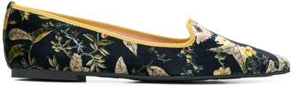 Pretty Ballerinas pointed ballerina shoes