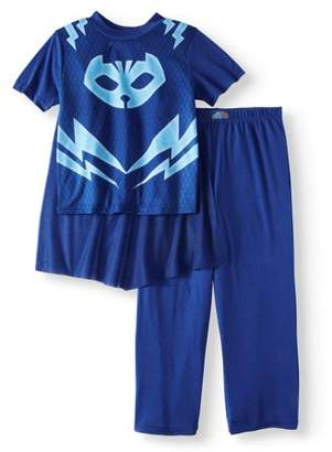 PJ Masks Boy's Costume Play 2 Piece Pajama Sleep Set (Big Boys & Little Boys)