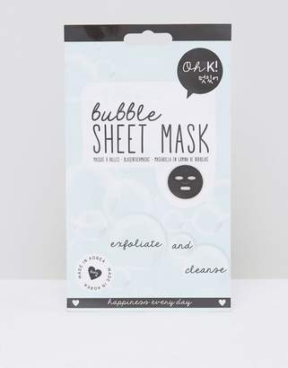Oh K! Oh K Bubble Exfoliate & Cleanse Sheet Mask