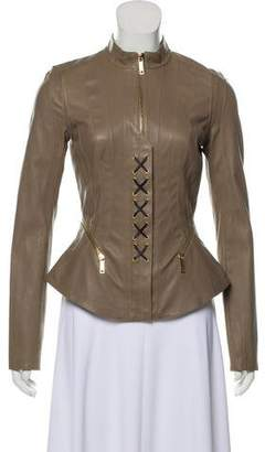 Jitrois Leather Zip-Up Jacket w/ Tags