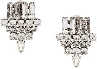 Saint Laurent brooch earrings