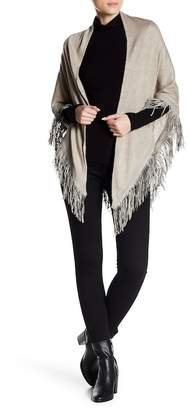 David & Young Brushed Knit Triangle Scarf
