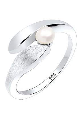 Perlu Women's 925 Sterling Silver Ring, Size M