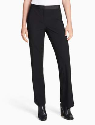 Calvin Klein satin stripe pants