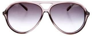 Matthew Williamson Aviator Oversize Sunglasses