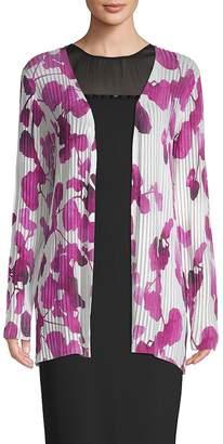 Escada Women's Sempers Printed Long-Sleeve Cardigan