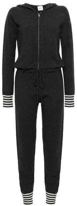 Madeleine Thompson Striped Wool And Cashmere-Blend Hooded Jumpsuit