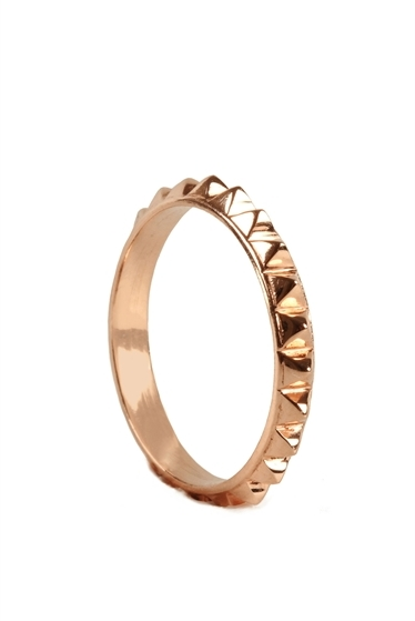 Campise Small Spike Ring