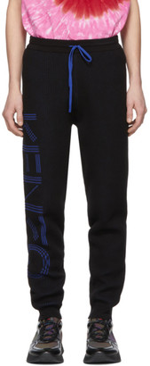 Kenzo Black Knitted Lounge Pants