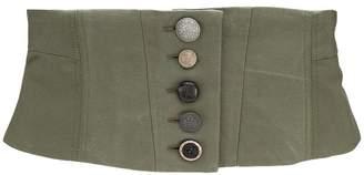 Antonio Marras contrast button waist belt